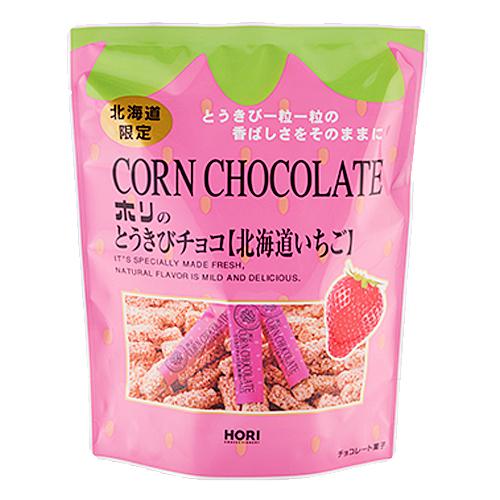 餅乾 北海道 草莓 玉米餅乾 90g 日本製造進口