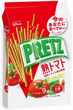 餅乾 格力高 番茄 百利茲棒 9袋/134g 日本製造進口
