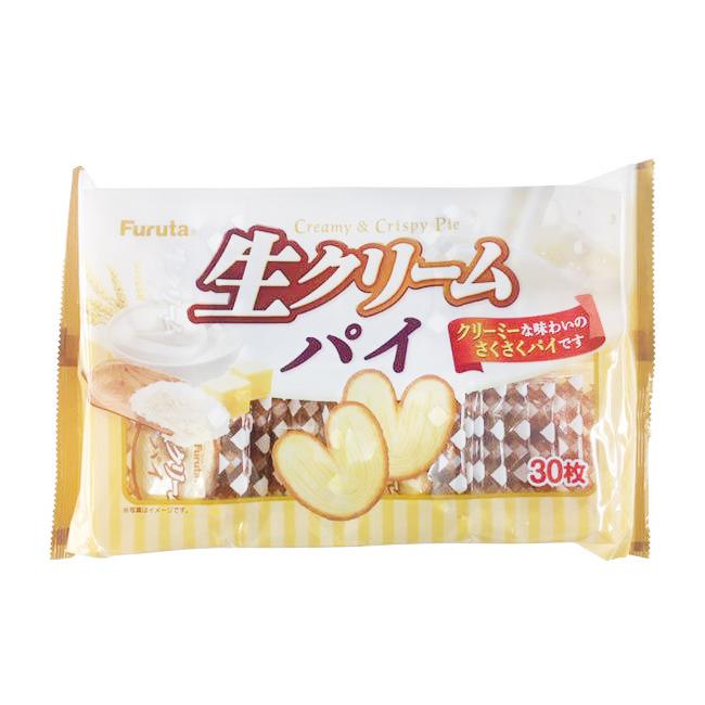 餅乾 日本 千層派 奶油風味 零食 零嘴 30入/195g 日本製造進口