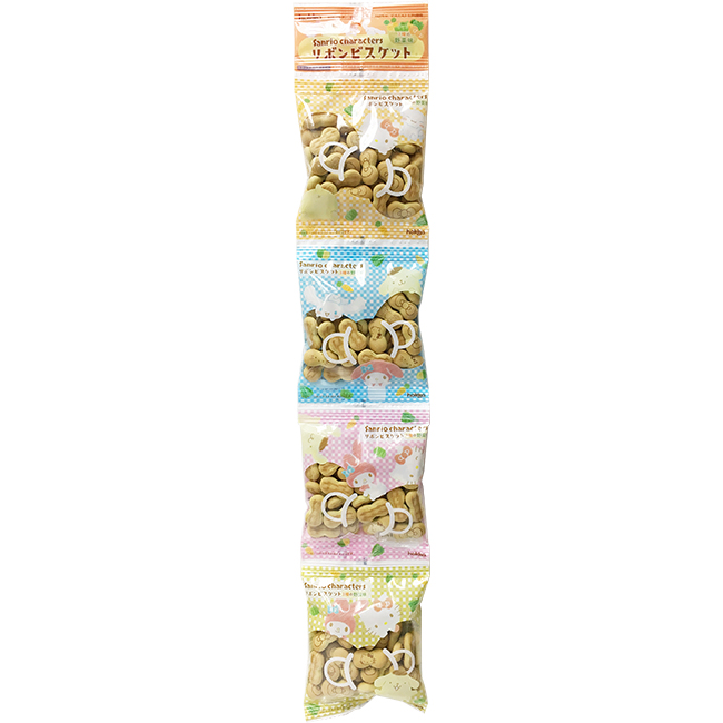 餅乾 日本 北陸 三麗鷗 蝴蝶結造型 蔬菜 四連餅乾 零食 零嘴 80g 日本製造進口