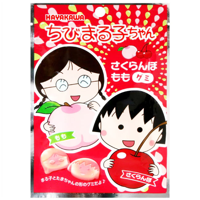 白桃風味軟糖 櫻桃小丸子 零食 零嘴 40g 日本製造進口