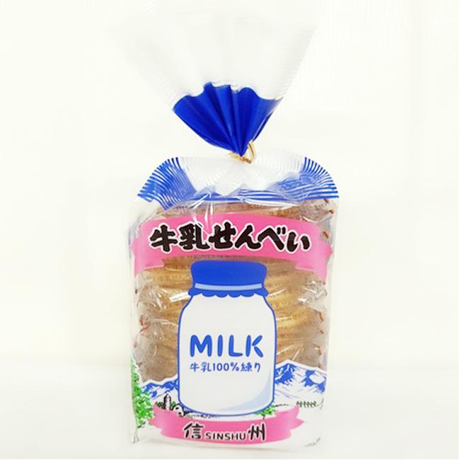牛奶煎餅 日本 仙貝 餅乾 零食 174g 日本製造進口
