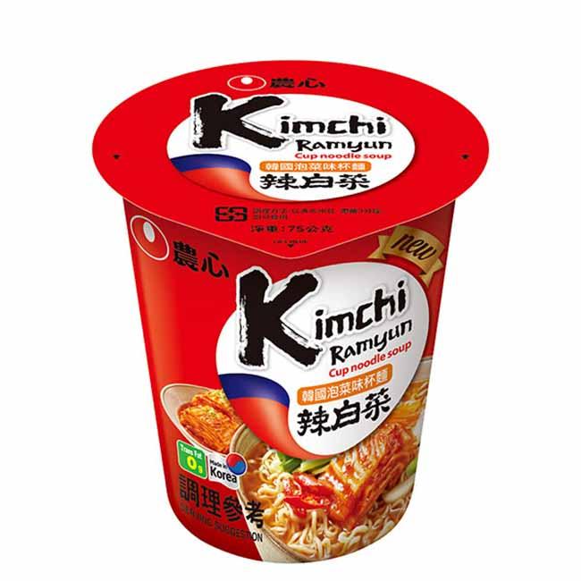 韓國泡菜味杯麵 農心 辣泡菜 泡麵 韓國製造進口