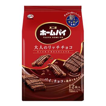 不二家巧克力千層派  零食 餅乾 日本進口