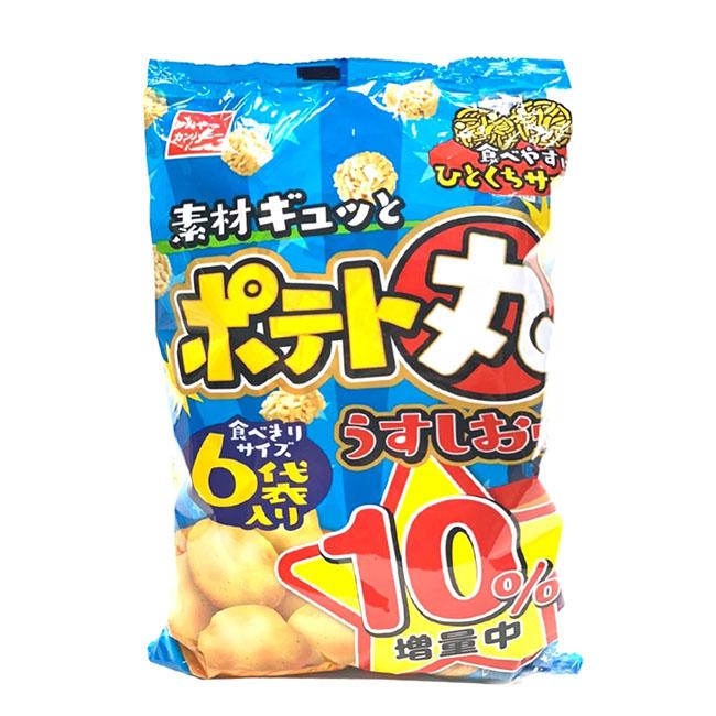 馬鈴薯點心丸麵 優雅食 鹽味 丸子麵 6袋入 120g 日本製造進口