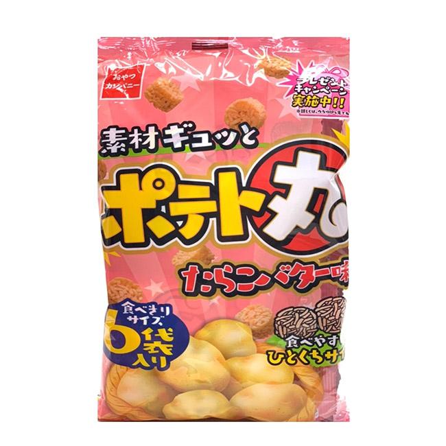 奶油風味點心丸 優雅食 奶油味 丸子麵 6袋入 108g 日本製造進口