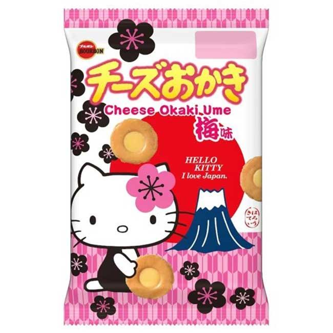 北日本梅子味起司米餅 餅乾 日本製造進口