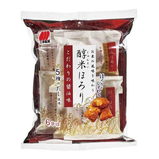 醬油風味米果 餅乾 120g 日本製造進口