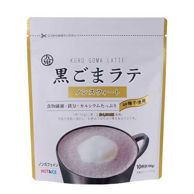 無糖黑芝麻粉 100g KURO GOMA LATTE 日本製造進口