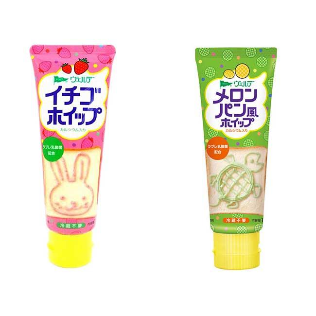麵包抹醬條 草莓 哈蜜瓜 100g 日本製造進口
