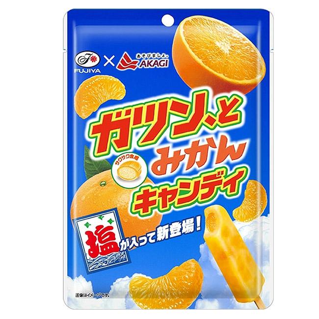 蜜柑味鹽糖 不二家 蜜柑風味 糖果 78g 日本製造進口