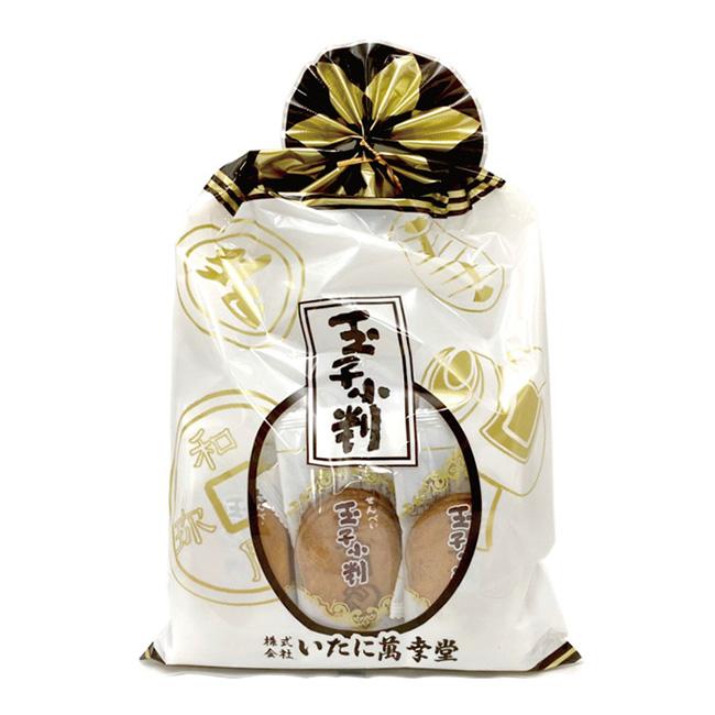 雞蛋味煎餅 萬幸堂 玉子小判 薄餅 脆餅 168g 日本製造進口
