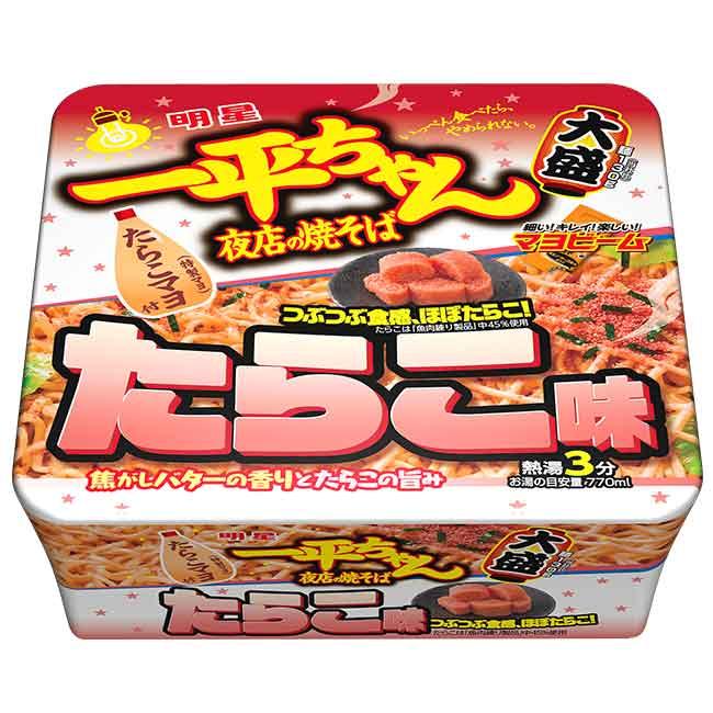 明太子風味炒麵 泡麵 鹹食 日本進口