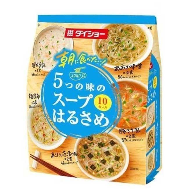 綜合風味粉絲湯 10入 日本製造進口