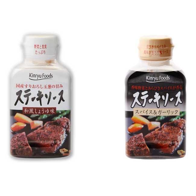牛排調味醬 Kinryu Foods 大蒜風味 和風醬油 日本製造進口