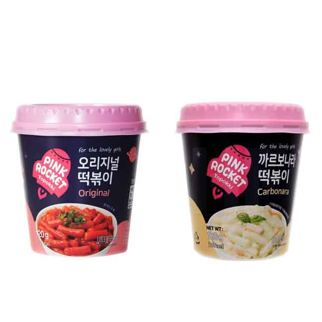 粉紅火箭炒年糕 辣炒年糕 白醬年糕 兩款 韓國進口