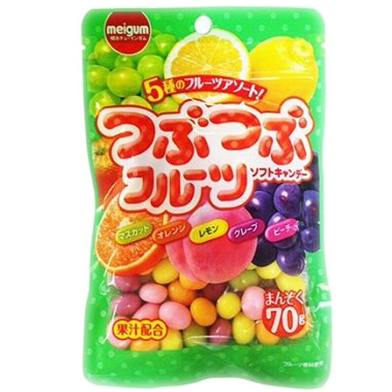 明治果汁軟糖 糖果 日本進口