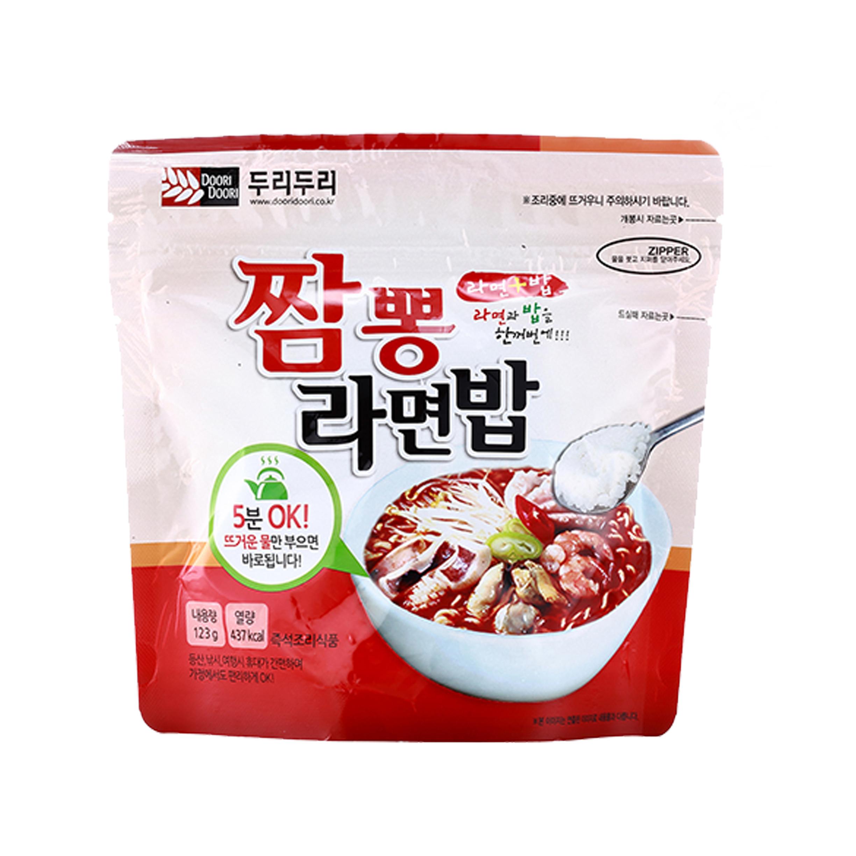 拉麵拌飯 海鮮味 韓式 DOORI 韓國進口
