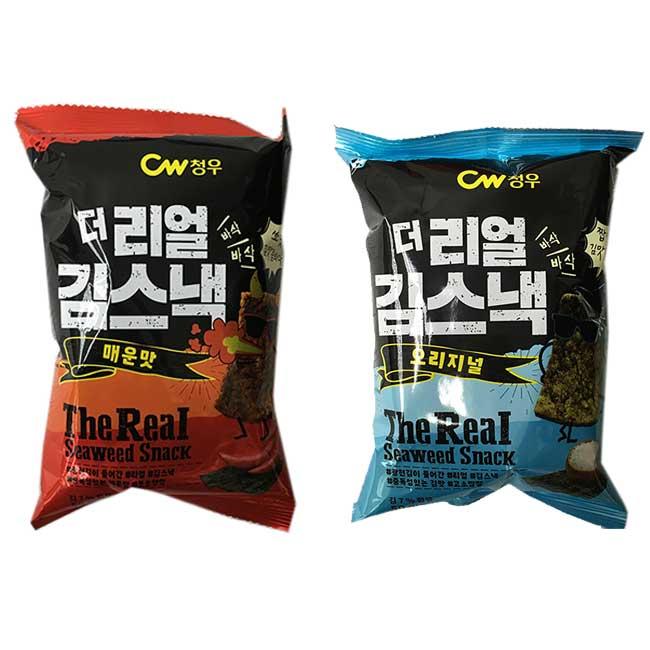 海苔脆脆餅 CW 原味 辣味 韓國進口