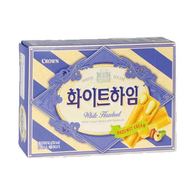 Crown 榛果奶油威化餅 142g 韓國製造進口