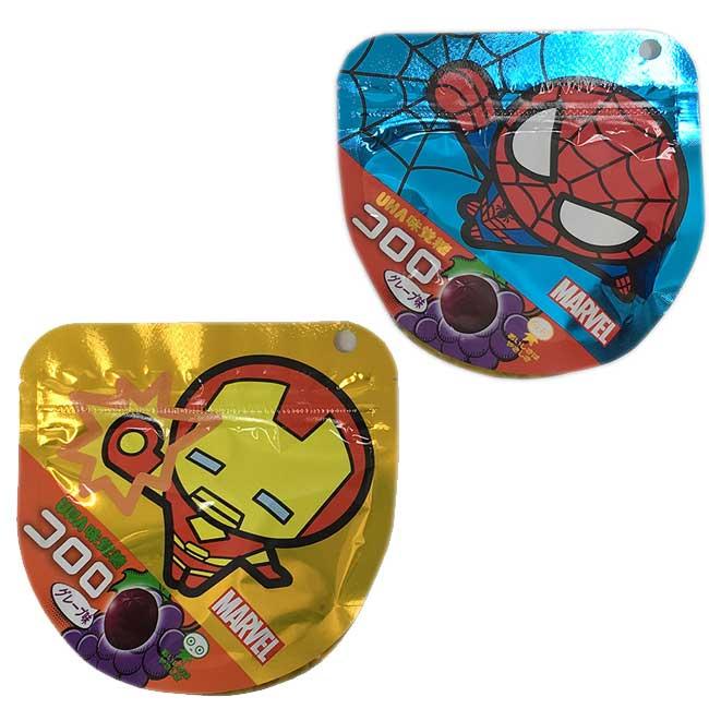 味覺糖 酷露露Q糖(漫威英雄版) 日本製造進口