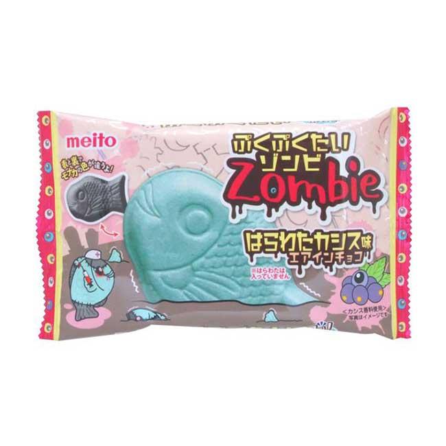 鯛魚燒造型代脂可可巧克力 黑醋栗風味 日本進口製造