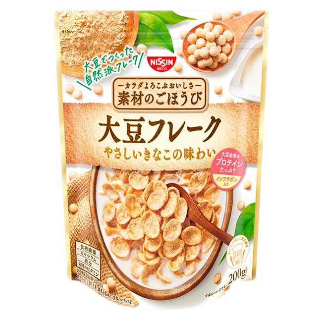 早餐大豆片 日清 200g 日本製造進口