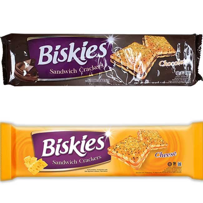 比奇利夾心餅 起司 巧克力 印尼製造進口