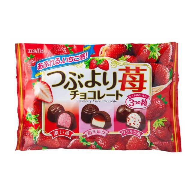 綜合草莓巧克力 meito 日本製造進口