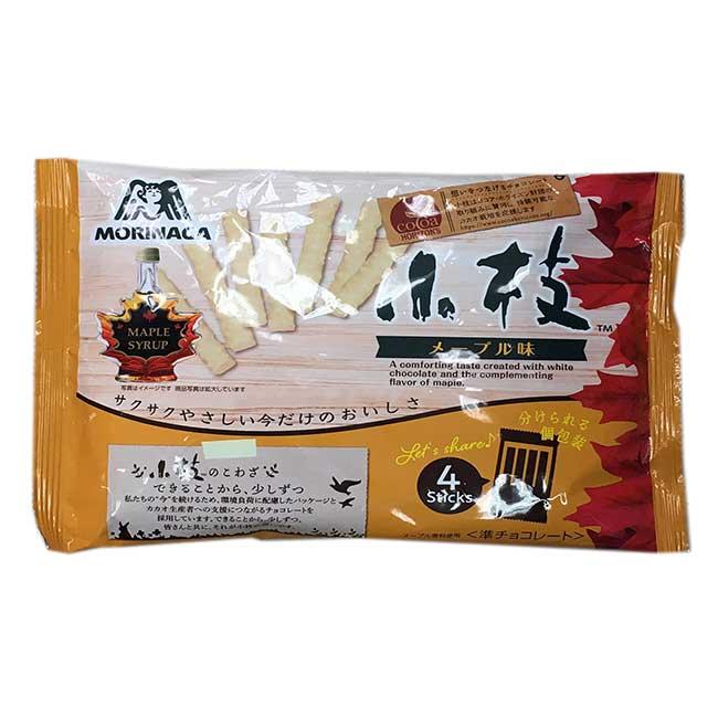 森永 楓糖巧克力風味棒 112g 日本進口製造