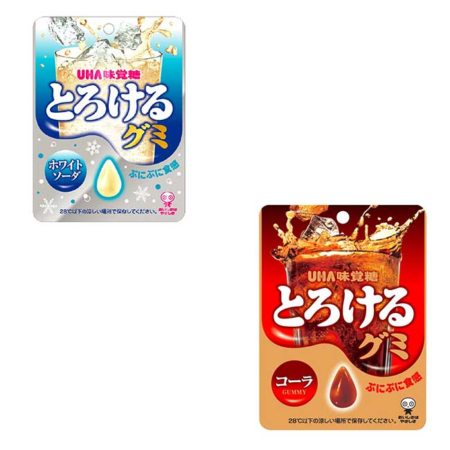 水滴軟糖 味覺糖 汽水味 可樂味 50g 日本製造進口