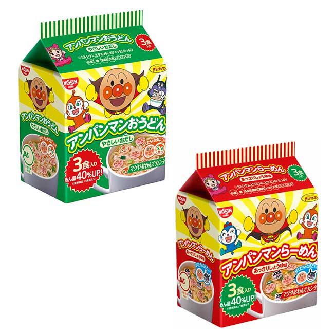 麵包超人方便麵 醬油拉麵 清湯烏龍麵 日本進口製造