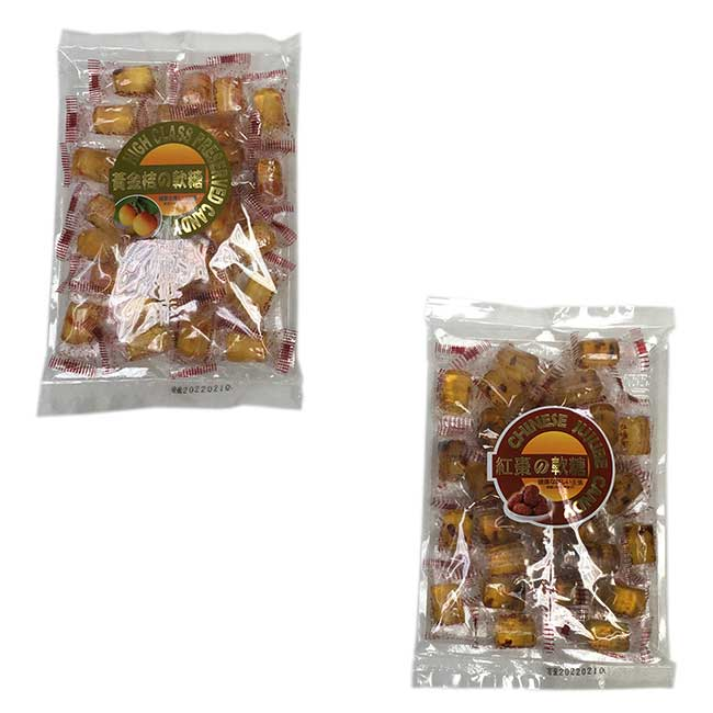 紅棗軟糖 黃金桔軟糖 糖果 馬來西亞進口製造