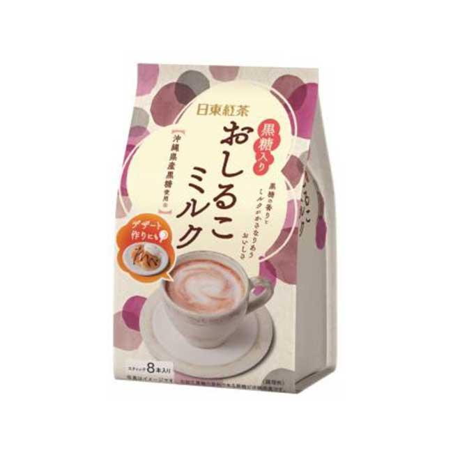 紅豆牛奶粉 日東紅茶 黑糖 100g 日本製造進口