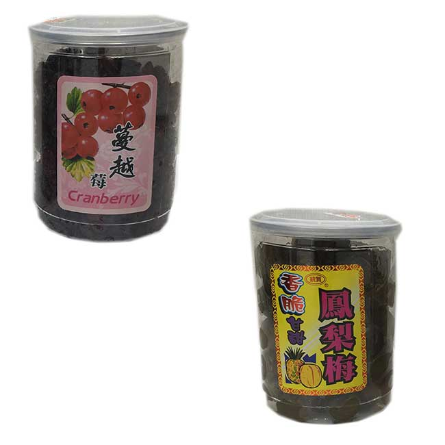 蔓越莓 鳳梨梅 全素 台灣製造