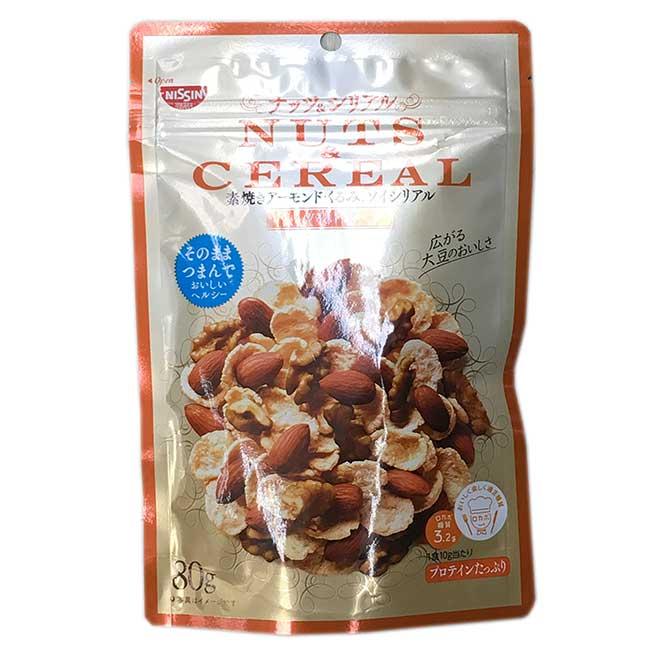堅果風味早餐片 80g 日清 日本製造進口
