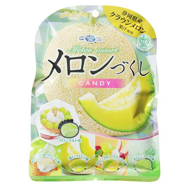 扇雀飴哈密瓜味糖 靜岡 81g 日本製造進口