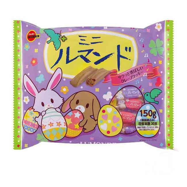 千層酥餅復活節版 BOURBON 日本進口製造
