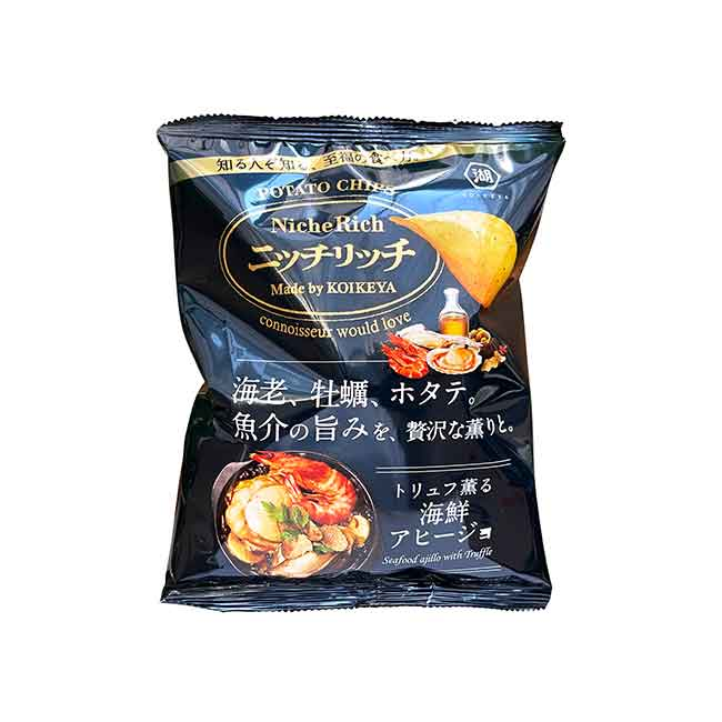 海鮮風味洋芋片 NicheRich 餅乾 日本進口製造
