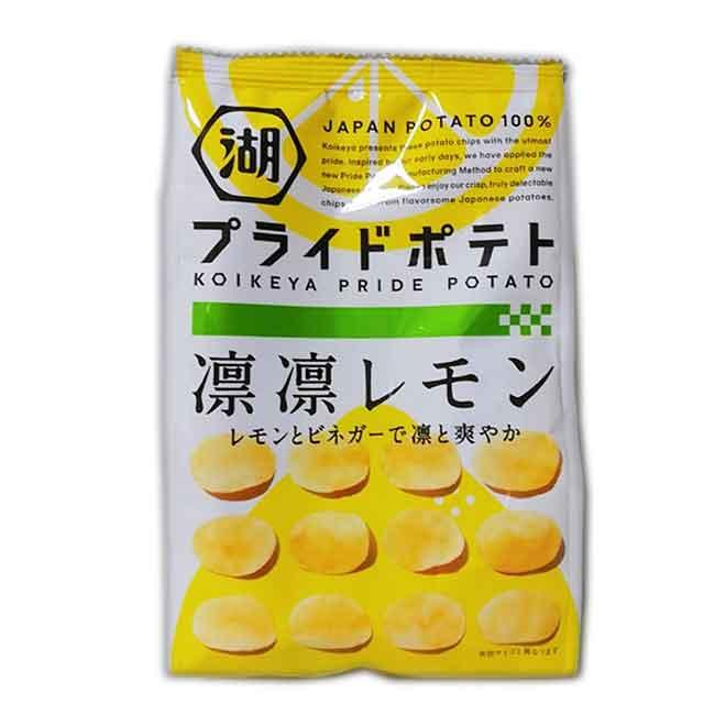 檸檬風味洋芋片 KOIKEYA PRIDE POTATO 餅乾 日本進口製造