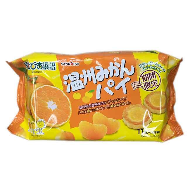 橘子風味派 SANRITSU 期間限定 日本進口製造