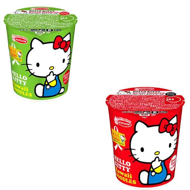 kt杯麵 即席杯麵 HELLO KITTY 泡麵 日本製造進口