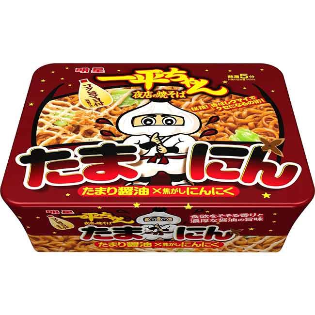醬油大蒜風味炒麵 110g 乾麵 日本進口製造