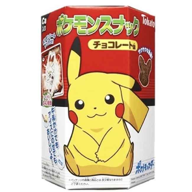 可可風味餅乾 附貼紙 寶可夢 23g 日本進口製造
