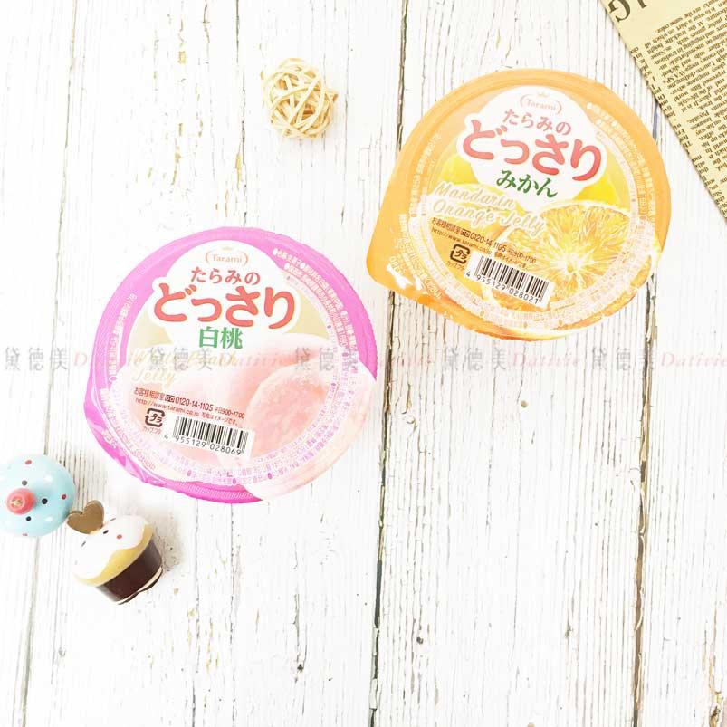 果凍杯 蜜柑 水蜜桃 230g 甜點 日本製造進口