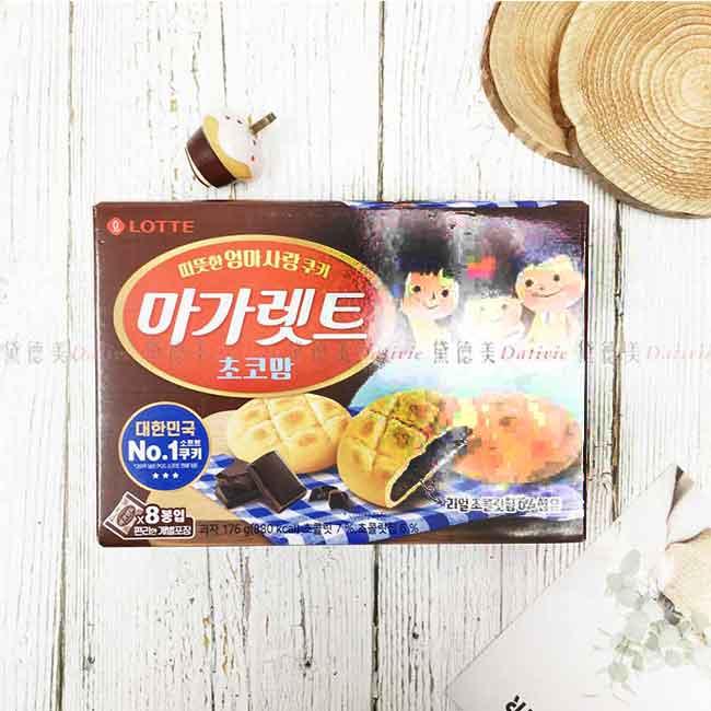 可可風味麻糬餅 LOTTE 韓國製造進口