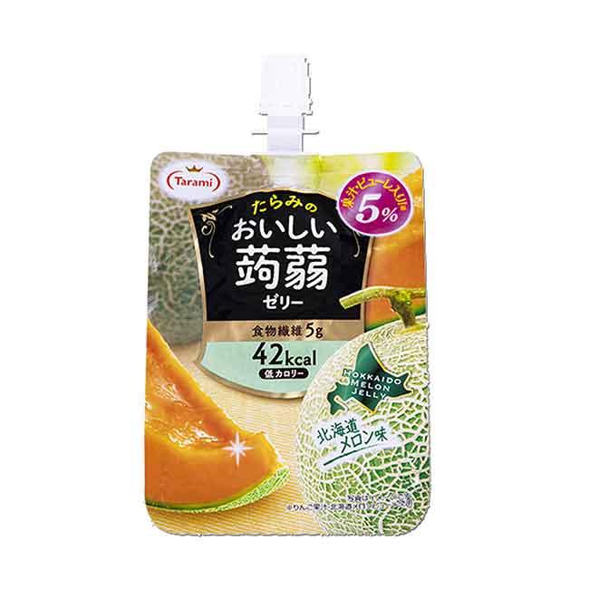 吸果凍哈密瓜 TARAMI 蒟蒻 日本製造進口