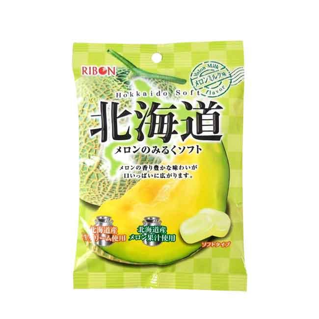 軟糖 哈密瓜口味 北海道 60g 日本製造進口