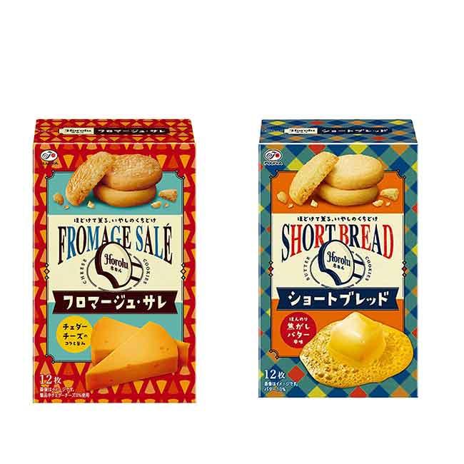 不二家 異國烘培餅 英式奶油酥餅 法式起司酥餅 日本製造進口