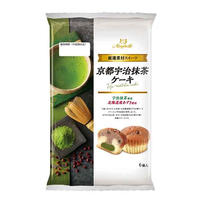 京都宇治抹茶蛋糕 點心 日本進口製造